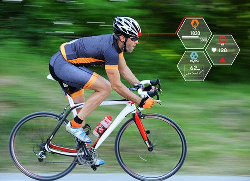 A SMART Cycling Helmet Controls Your State Of Health