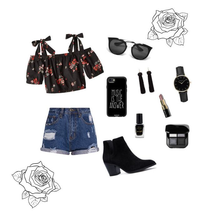 """🐾"" by livfanllya on Polyvore featuring Prada, Casetify, ROSEFIELD, Barry M and Bobbi Brown Cosmetics"