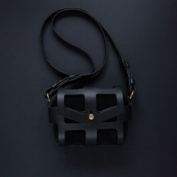 caged leather handbags - Google Search