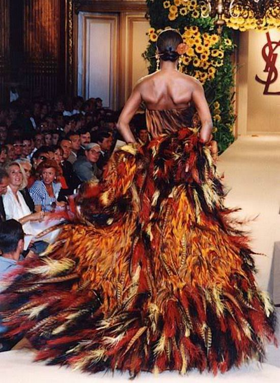 Yves Saint Laurent Haute Couture Fw 1990 Couturtionists