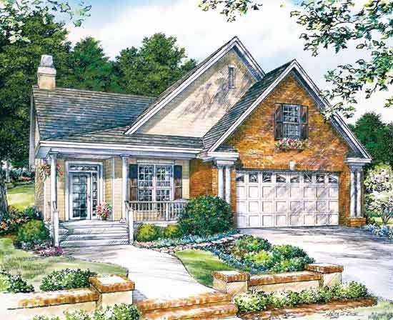 The Terrell   houseplans   Pinterest   Small house plans