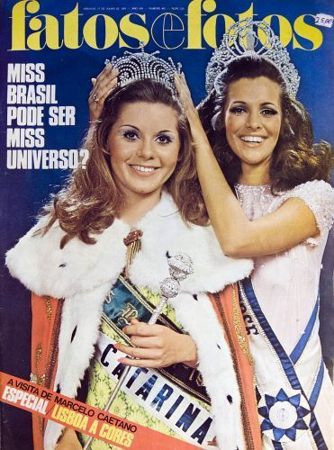 olimpiadas.uol.com.br371 × 500Pesquisa por imagem ... Miss Brasil 1969, vencido pela catarinense Vera Fischer. Paulo Tadeu/Arquivo pessoal