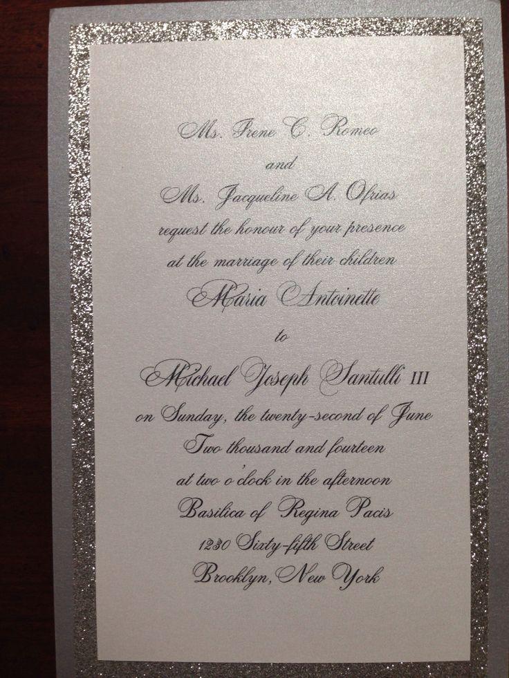Bling Wedding Invitations 029 - Bling Wedding Invitations