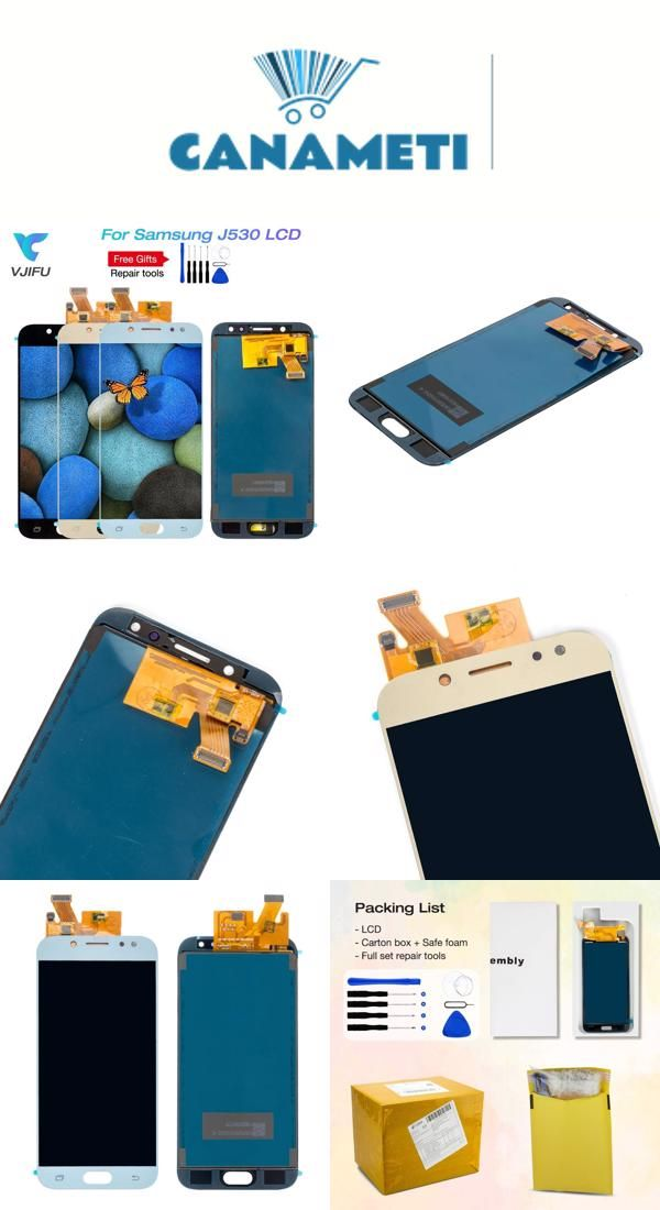 Lcd Replacement For Samsung Galaxy J5 2017 Pro J530f Ds J530y Ds Touch Screen Digitizer Display For J5 2017 Duos Canameti Vjifu Repair Store 54 03 Cellulari