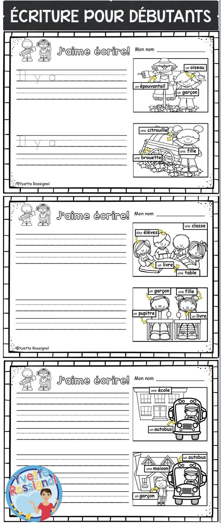 Étiquettes mots, images, 3 choix pour la différentiation! Parfait pour maternelle-1ère année :)