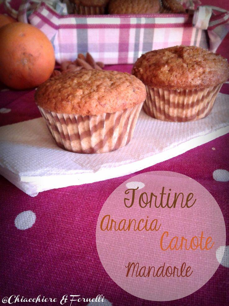 Tortini Arancia Carote e Mandorle