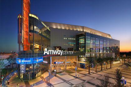 Amway Center basquete ginasio