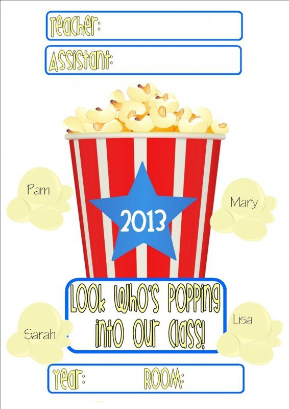 137 best back to school images on pinterest infancy blouse and popcorn welcome door sign diff versions updated 2015 pronofoot35fo Gallery