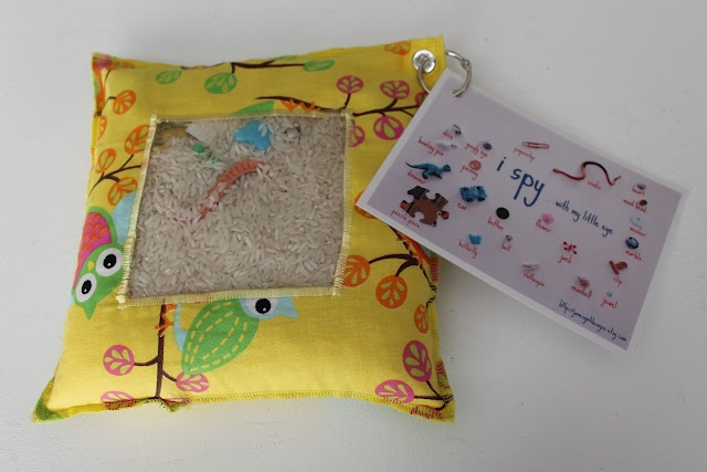 I Spy Bag - great quiet toy for little ones