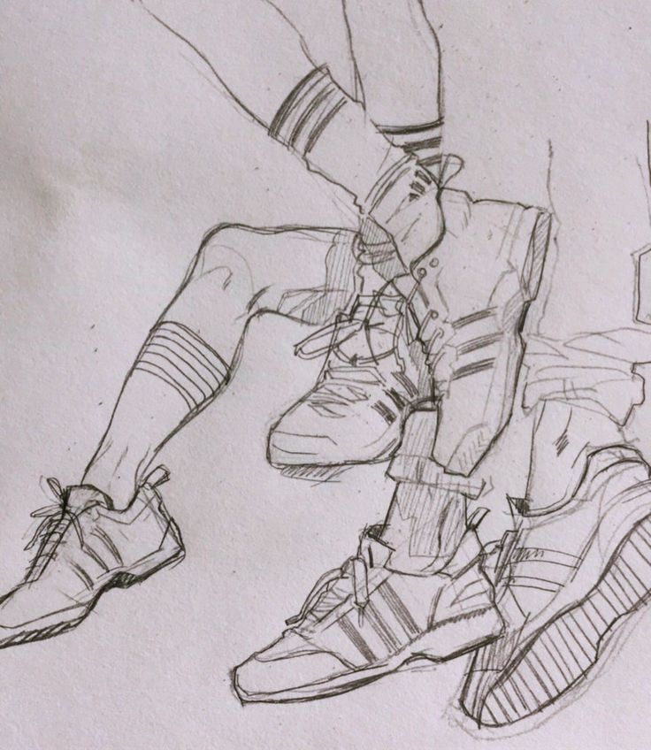 """""""I absolutely hate drawing shoes so I decided to draw some ♀️"""" ✏✍…"""