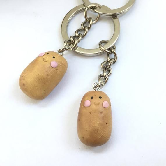 Potato Keychain Cadeau de la fête des Mères Best Friend Gift