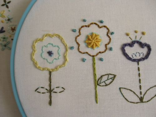 summer flowers for you by comfortstitching by aneela hoey