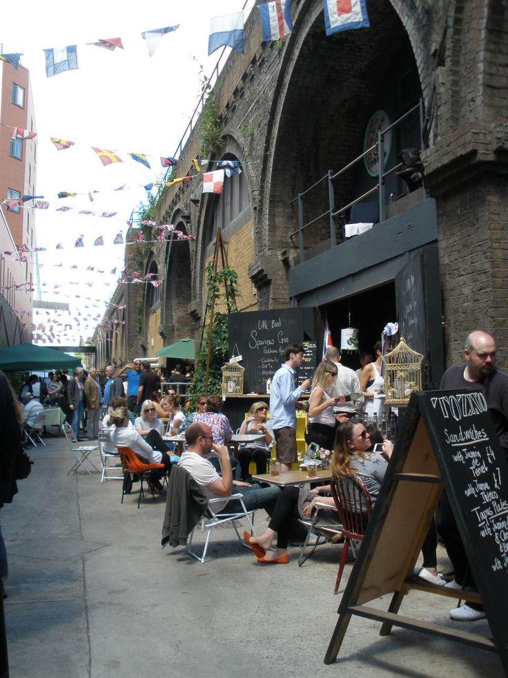 Maltby Street Market, London