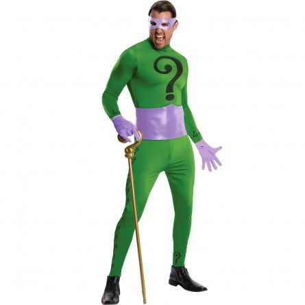 Mens Classic The Riddler Costume