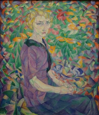Leo Gestel: Woman between Flowers
