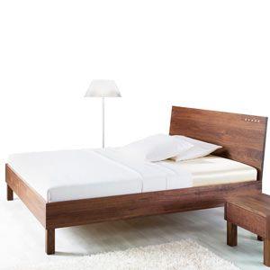 Letto legno massello Vera Brillant, con testata con Swarovski, realizzato artigianalmente in legno massello, senza parti metalliche…