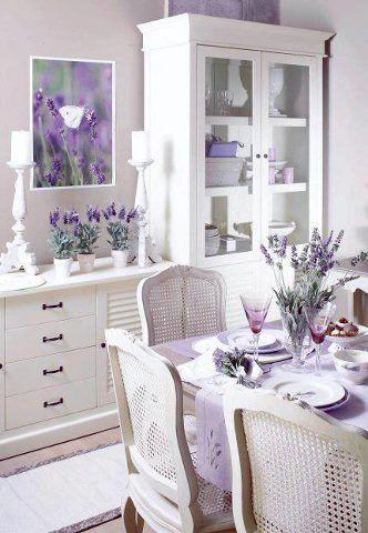 Lavender indoors beautiful