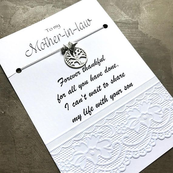 Perfect Moeder in de wet huwelijksgeschenk moeder in wet geschenk