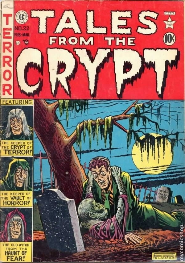 The old EC horror comics were the greatest.