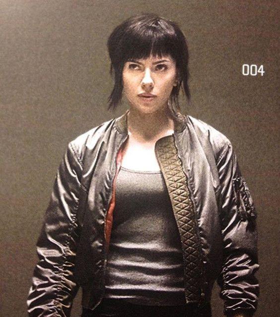 Scarlett Johansson en una de las imágenes filtradas de Ghost in the Shell