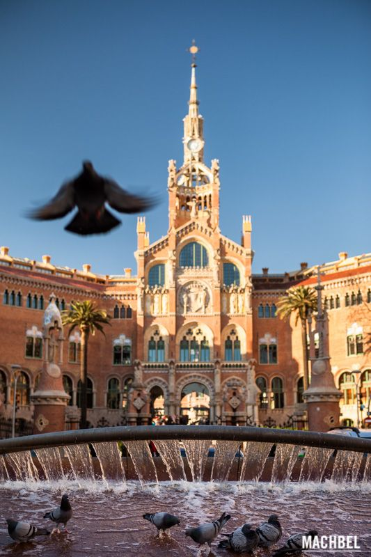 Hospital de Sant Pau, modernismo en Barcelona by machbel