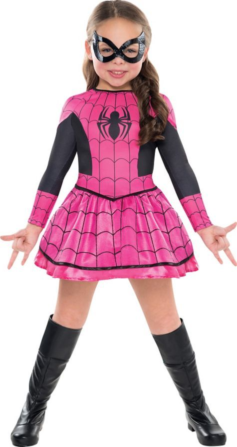 Girls Spider-Girl Costume - Party City