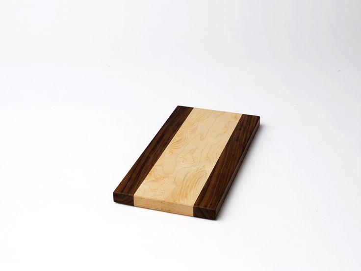 Cheese Board ~ Fish Lake - Maple & Walnut