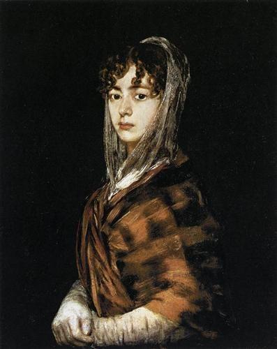 Francisco Goya Francisca Sabasa y Garcia 1804 Romanticism