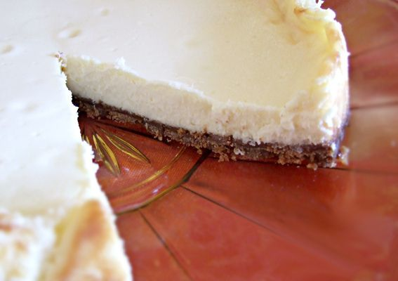 Gebakken Cheesecake