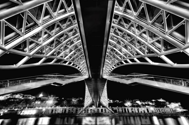 Under the bridge by Roland Shainidze, via 500px