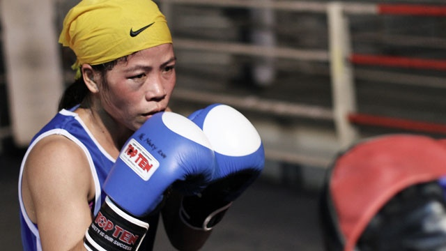 Mary Kom's parents earned their livelihood by working in jhum fields. Being the eldest, Mary helped her parents work in the fields, cutting woods, making charcoal and fishing. She also spent time looking after her two younger sisters and a brother. Now a mother of twins and a world champion boxer.