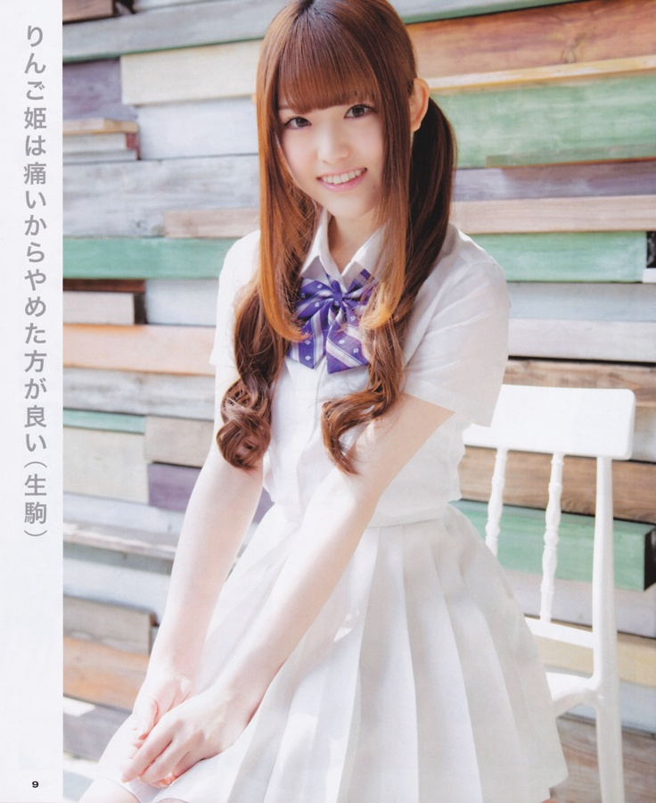 BUBKA 2013.05 乃木坂46 (nogizaka46) Matsumura Sayuri (松村沙友理) Ikoma Rina (生駒里奈) Shiraishi Mai (白石麻衣)
