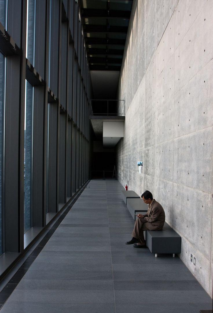Hyogo Prefectural, Museum of Art. Tadao Ando