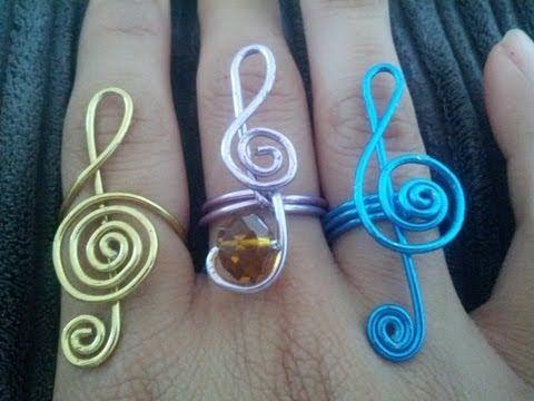 ▶ Como hacer Anillo De alambre en ''Honor a la musica'' - YouTube