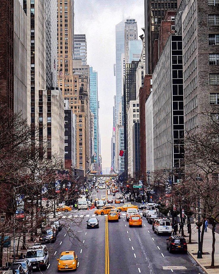 East 42nd Street New York City. Wanna visit NYC before I die