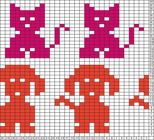 Tricksy Knitter Charts: untitled chart (80266) by KnittyPretty