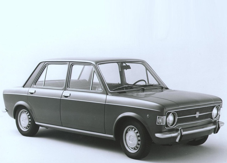 Fiat 128 white, my first car
