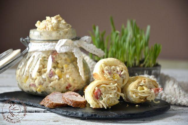 kuchnia w czekoladzie: Makaronowa sałatka z kurczakiem
