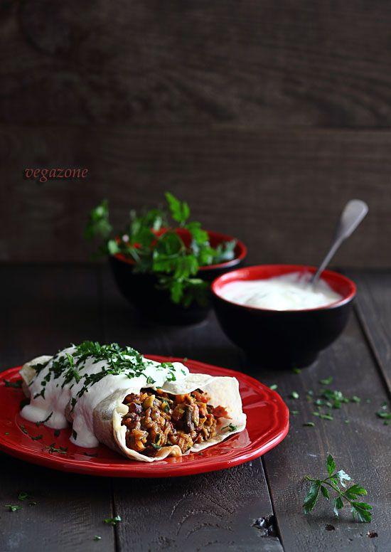 Wegetariańskie burrito