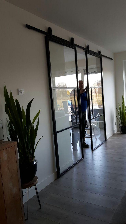 24 besten stahl glas t ren bilder auf pinterest fenster und lofts. Black Bedroom Furniture Sets. Home Design Ideas