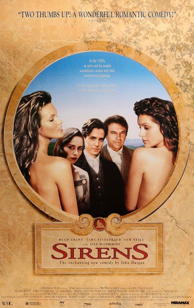 Sirens (1994) Original One-Sheet Movie Poster
