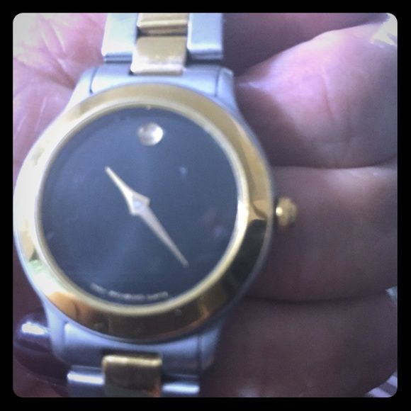 Two tone movado watch Classic authentic watch Accessories Watches