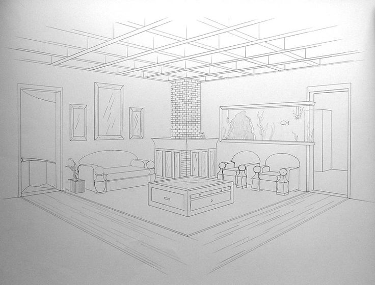 Living Room 2 Point Perspective 361 best images about mart2 on pinterest | alberto giacometti