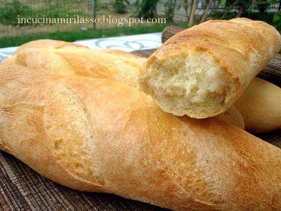 Filoncini di pane tipo Baguettes