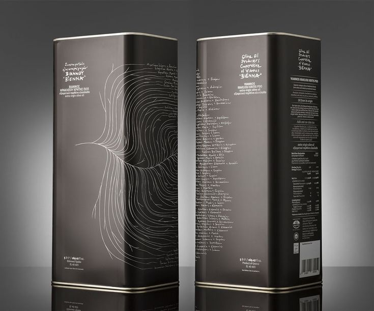 Lazy Snail were inspired to design the packaging for Bienna Olive Oil in a black bottle that features a tree, with the names of all producers as its leaves, representing this sense of unity and devotion to creating a unique and authentic product. The project was awarded the prestigious Red Dot Communication Design Award in 2015. #design #Branding #packaging