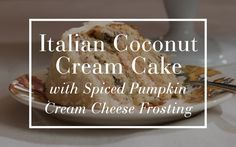 When we were in need of a real showstopper of a dessert this fall, we knew that the fantastically-talented Janine Waite from Happy Happy Nester shows Pottery Barn how to make Italian Coconut Cream Cake with Spiced Pumpkin Cream Cheese Frosting.