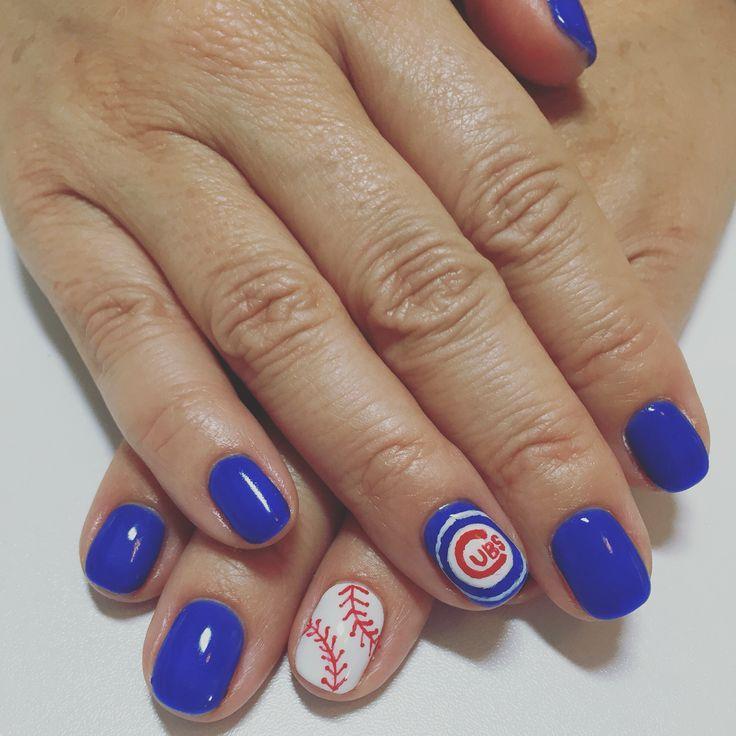 15 best nails images on Pinterest | Fingernail designs, Baseball ...