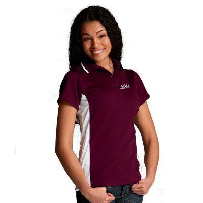 15 best custom womens polo shirts embroidered images on for Corporate logo golf shirts