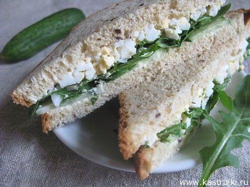 Сэндвичи с яйцом | Кастрюльки.ру
