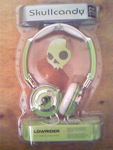SKULLCANDY LOWRIDER HEADPHONES, MINT GREEN & WHITE by SKULLCANDY LOWRIDER HEADPHONES, MINT GREEN & WHITE, http://www.amazon.co.uk/dp/B003YLS5V8/ref=cm_sw_r_pi_dp_csM9sb0J33DBP